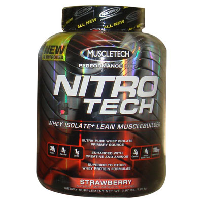 Muscletech Nitro Tech Strawberry ...