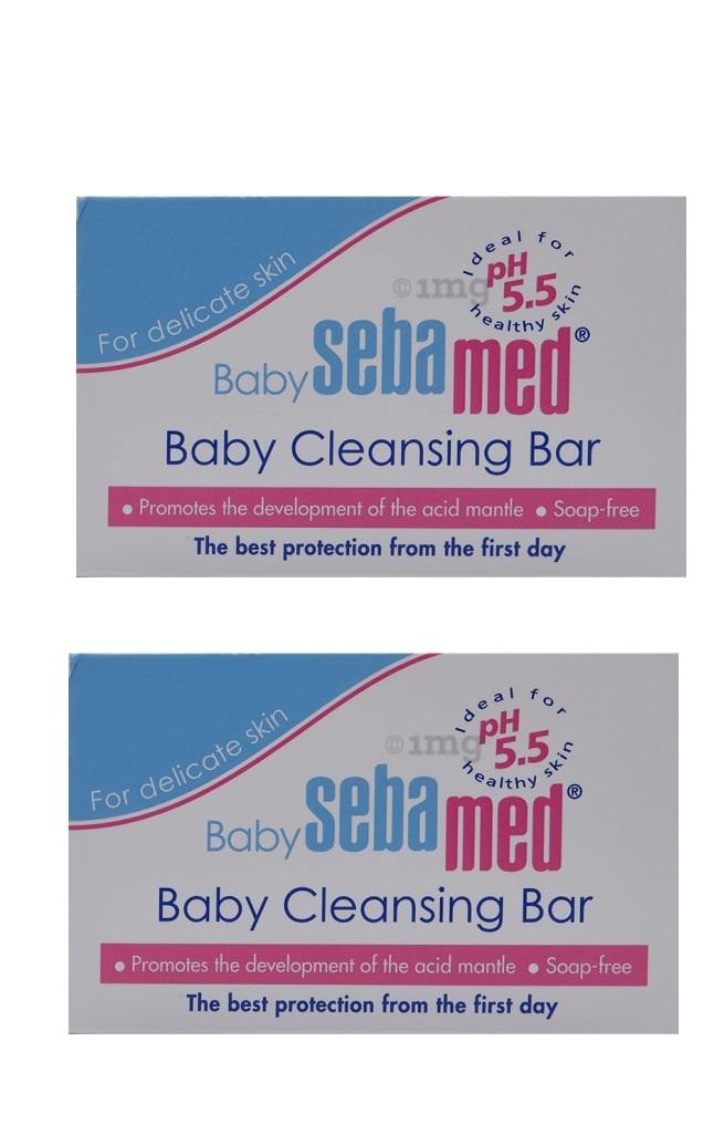 SebaMed Baby Cleansing Bar 150gm Pack Of 2