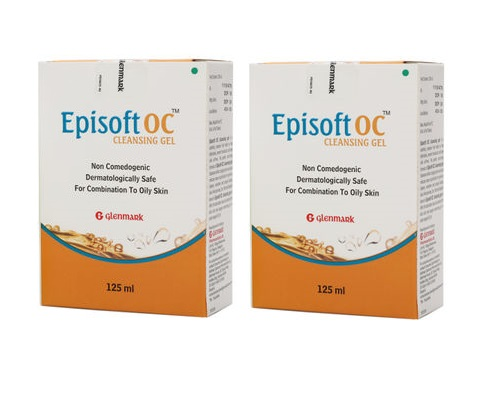 Episoft Oc Cleansing Gel 125 ml Pack Of 2