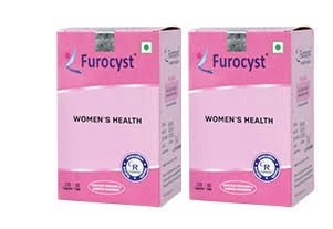 FUROCYST  Women 's Health 60 capsules  Pack Of 2