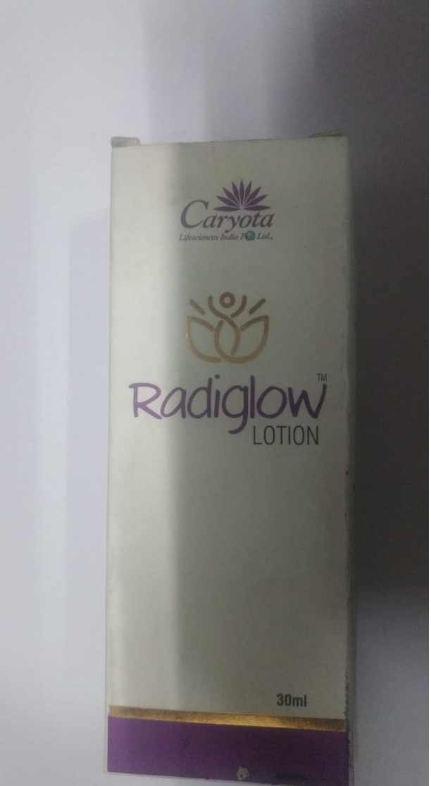 Radiglow lotion