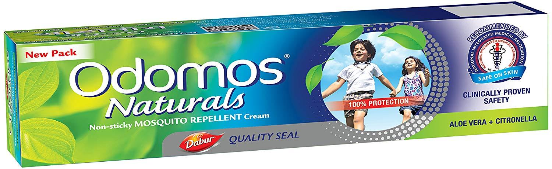Dabur Odomos Naturals NonSticky Mosquito Repellent Cream  100g