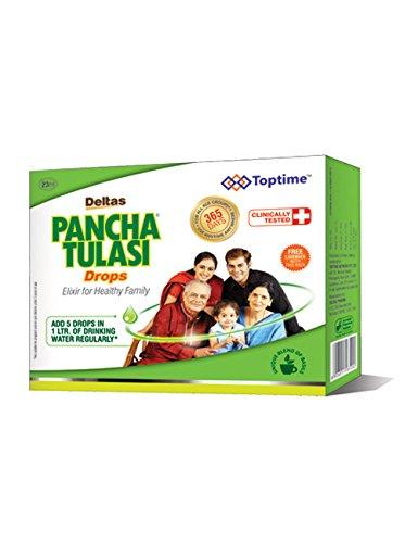 Deltas Pancha Tulasi Drops 15ml pack of 2