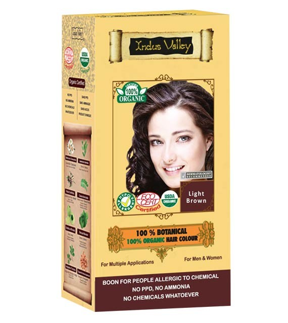 Indus Valley Organic Light Brown colour