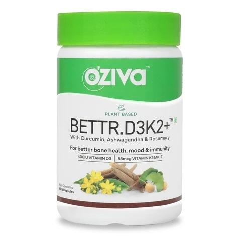 OZiva Plant Based Bettr.D3K2 plus 60cpas