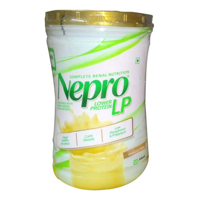 Nepro Lower Protein LP 400 gm Vanilla Flavour for people with kdney disease