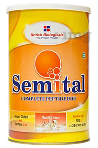 Semital Powder Vanilla 500gm
