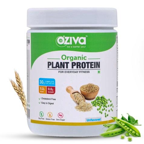 OZiva Organic Plant Protein, For Everyday Fitness