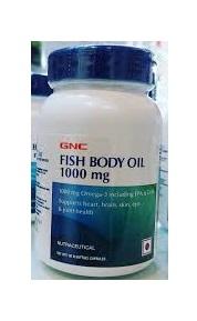 GNC FISH BODY OIL 1000MG