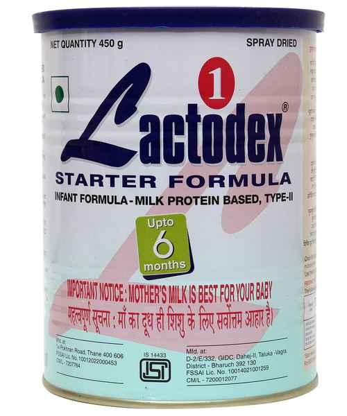 LACTODEX 1 STARTER INFANT FORMULA 450GM