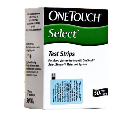 OneTouch Select Simple Strips 50