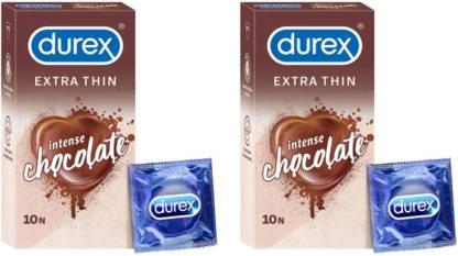 Durex Chocolate Flavor PACK OF 2
