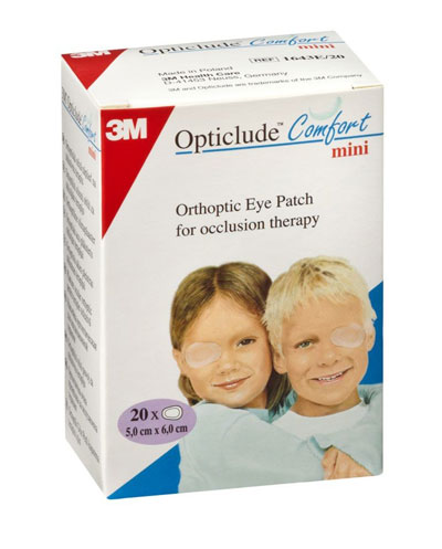 3M Opticlude Orthoptic Eye Patch 5cm6cm 1537 B