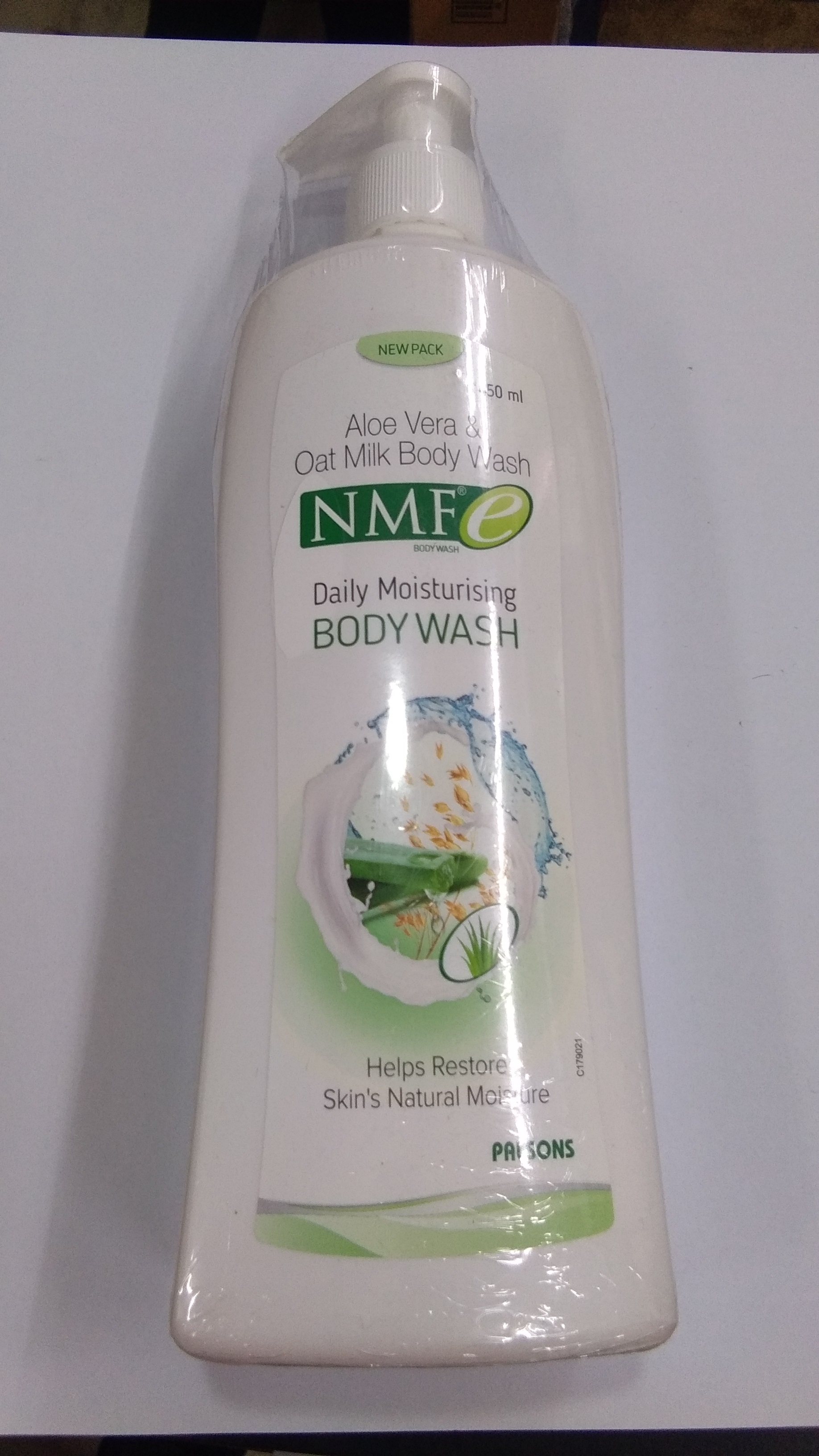 Daily moisturising body wash 450ml