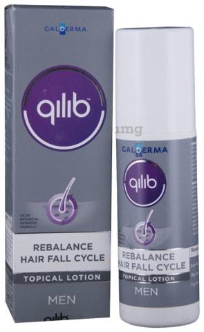 Qilib Rebalance Hair Fall Cycle Lotion Men 80 ml