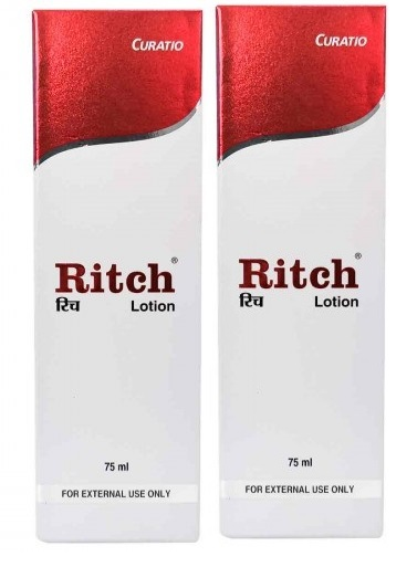 Ritch Lotion  75 ml Pack of 2