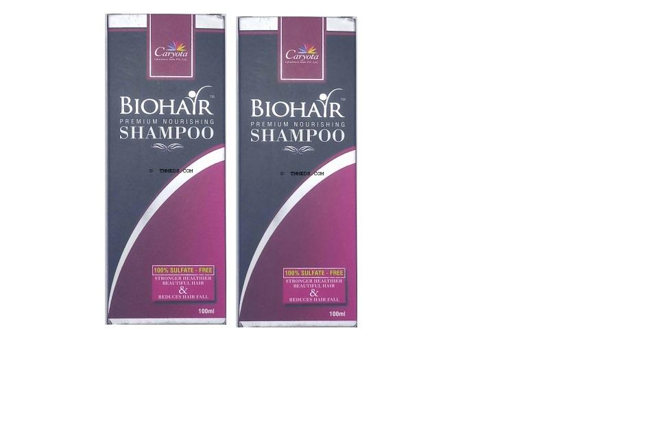 BIOHAIR Shampoo 100ml pack of 2
