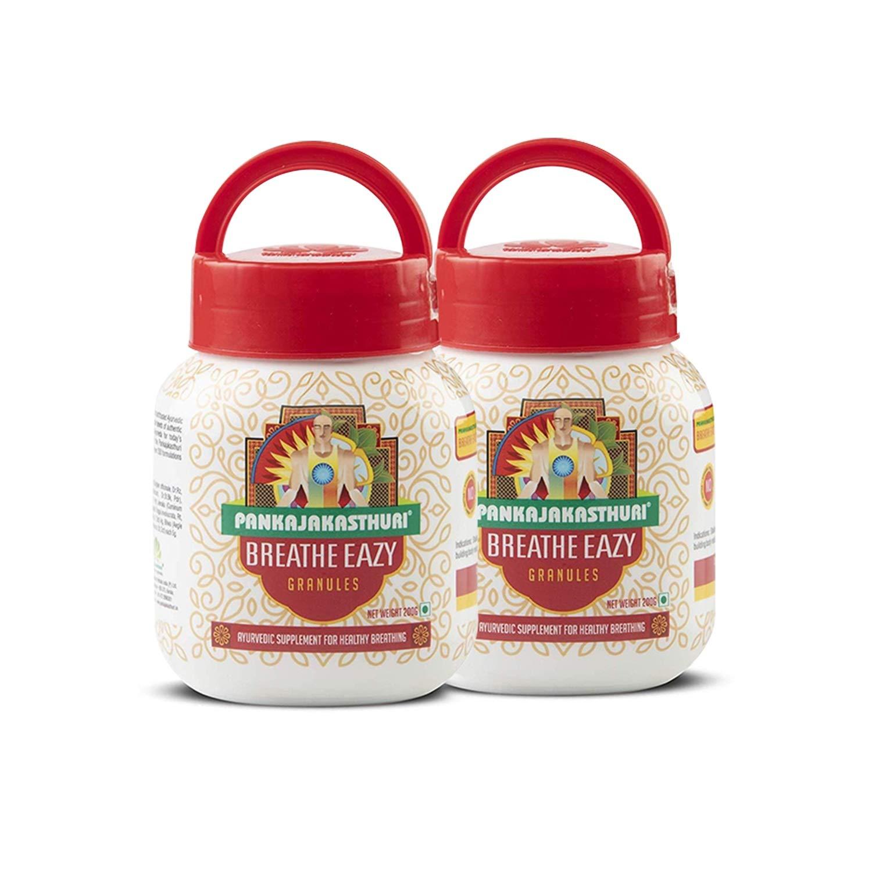PANKAJAKASTHURI BREATHE EAZY POWDER 200g PACK OF 2