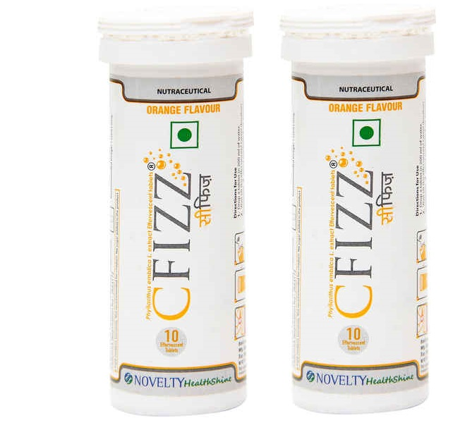 Cfizz Orange Flavour 10 Tablets  Pack Of 2