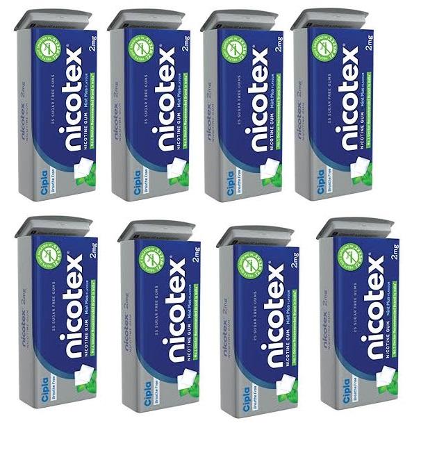 Nicotex Tin Mint Plus Flavour Pack Of 8