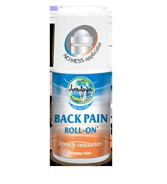 Amruthanjan Back pain roll on 50ml Pack Of 2