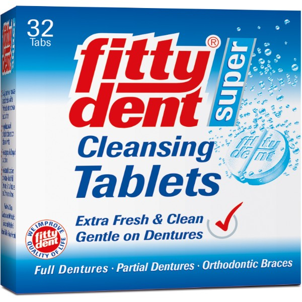 Fittydent Cleansing Tabs 32tablets