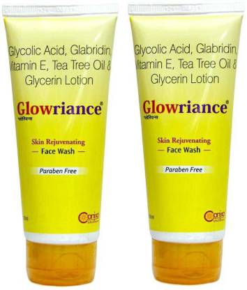 Glowriance Face Wash 100 ml pack of 2