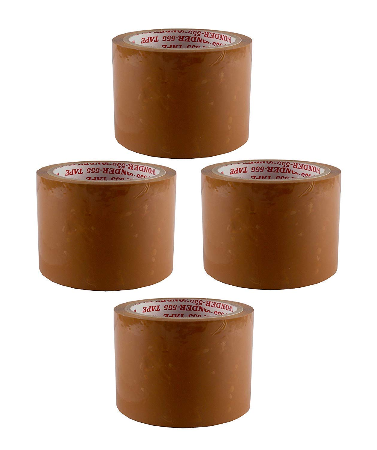 Promepro Brown Tapes 72mmx65Meter (Pack of 4)