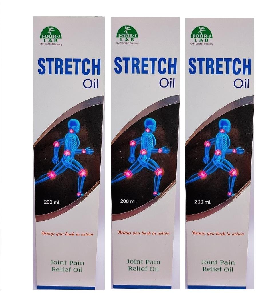 STRETCH OIL 200 ml  Pack Of  3