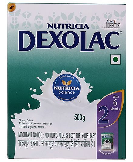 Dexolac 2 Follow Up Formula  500 g