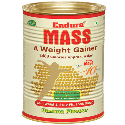 Endura Mass Banana Flavour 500gm