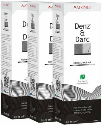 Denz And Darc Hair oil  100 ml  Pack Of 3
