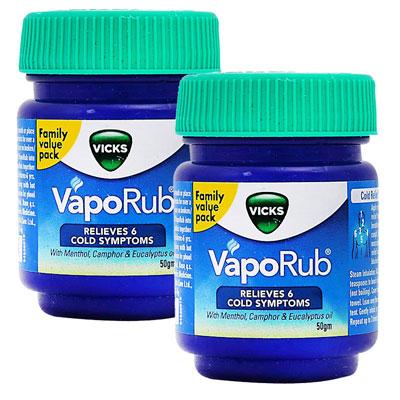 Vicks Vaporub 50 ml Pack Of 2