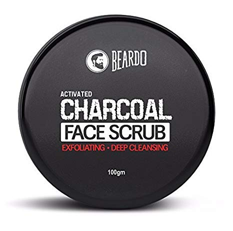 Beared ACTIVATED CHARCOAL FACE SCRUB
