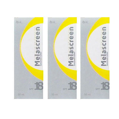 Melascreen Sunscreen Lotion 50 ml Pack of 3