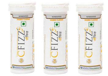 Cfizz Orange Flavour 10 Tablets  Pack Of 3