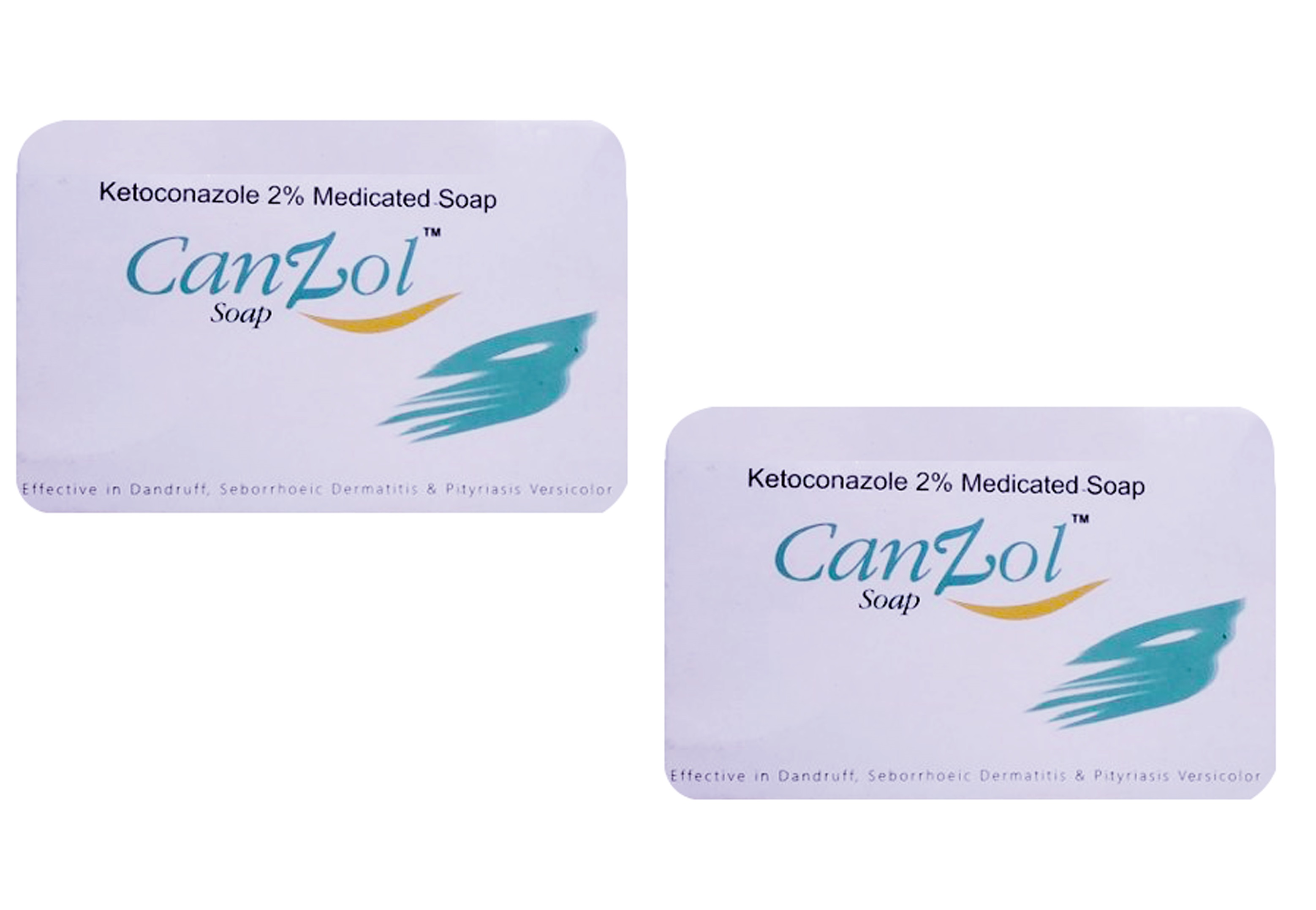 CanZol Soap 75 gm Pack Of 2