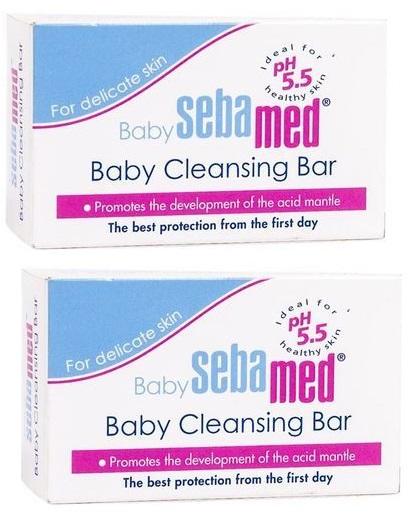 SEBAMED Baby Cleansing Bar 100gm Pack Of 2