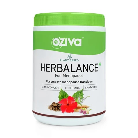 For Menopause: OZiva Plant based HerBalance for Menopause 250g