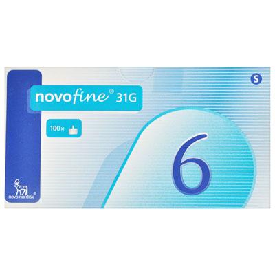Novofine Aig Ster 0 25 into 6mm 31g 100Pc