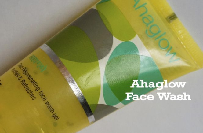 Ahaglow Face Wash Gel 200g Pack of 2