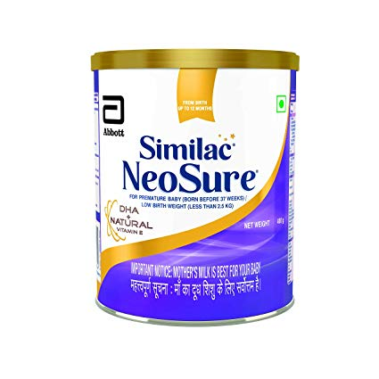Similac Neosure IQ Infant Formula DHA  Natural Vitamin E  400g up to 12 months