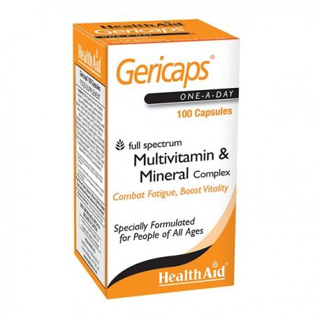 Health Aid Gericaps Active 100Caps