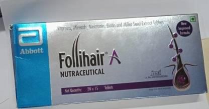 Follihair A Tablets (2x15N)  30'S Pack Of 2