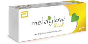Melaglow Rich Skin Brightening and Lightening Cream, 20g
