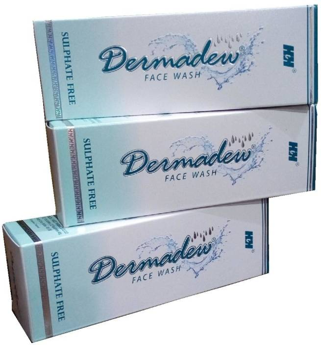 Dermadew Face Wash 100 ml pack of 3