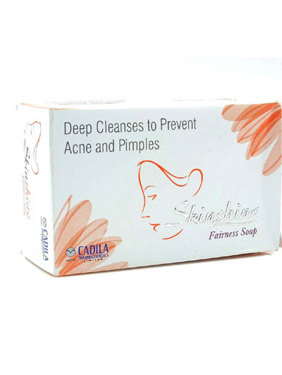 Skinshine Fairness Soap For Deep Cleanses To Prevent Acne  Pimples 75g