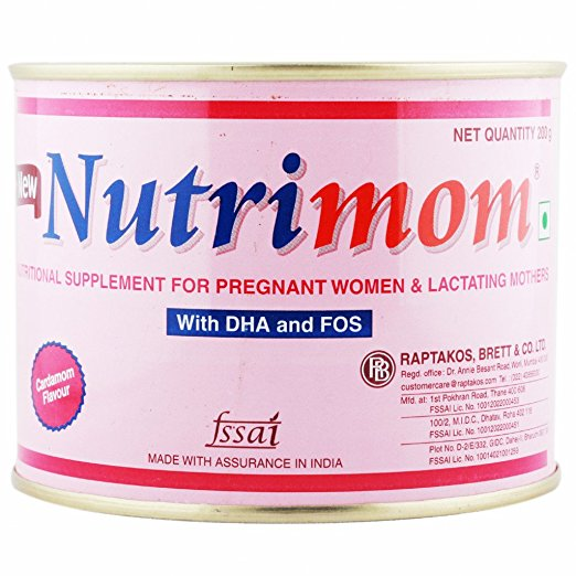 Nutrimom with DHA and FOS 200g
