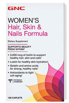 Hair Skin and Nails Formula 3000mcg 120s