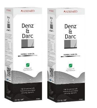 Denz And Darc Hair oil  100 ml  Pack Of 2